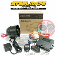 Steelmate E-Series Car Alarm System with Vibration Sensor