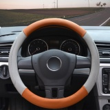 Beli Barang Steering Wheel Covers 14 56 14 96 Pu Leather Gray M Intl Online