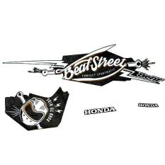 Sticker Body Kanan Hitam (Black) – BeAT Street eSP