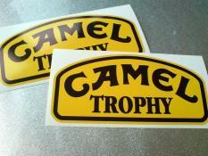 Sticker Camel Trophy Jeep Off Road