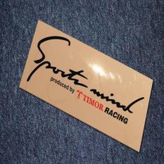 Sticker Sport Mind Timor Racing Indonesia