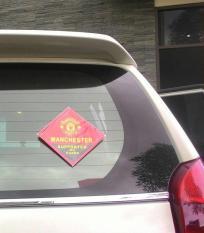Sticker Stiker Mobil Bola MU Arsenal Chelsea Liverpool
