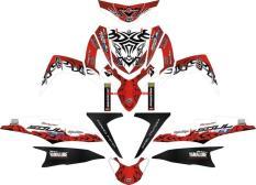 Sticker STRIPING MOTOR YAMAHA MIO SOUL GT TRIBAL V3 Spec B