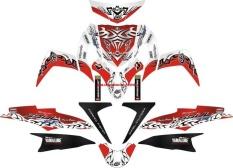 Sticker STRIPING MOTOR YAMAHA MIO SOUL GT TRIBAL V4 Spec B