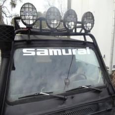 Sticker Suzuki Samurai Windshield Limited 4X4 Katana Jimny