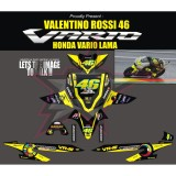 Jual Sticker Vario Lama Vr46 Konsep Multi Original
