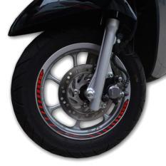 Sticker Velg Wheel Rim Merah Scoopy New K93 871X0K93A00RED