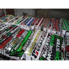 Stiker Graftax Vinyl Huruf Panjang isi 100 pcs