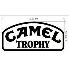 Stiker Mobil- Camel Trophy White (Pernik Offroad- 4X4)