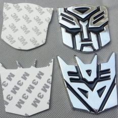 Perbandingan Harga Stiker Mobil Emblem Metalik Motif Transformer Bahan Logam Universal Di Dki Jakarta