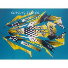 Review Stiker Motor Klx 150 Bf Fox 001 Kuning Indonesia