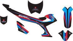 Stiker Motor SATRIA FU 2014 Decal RACING Grade A