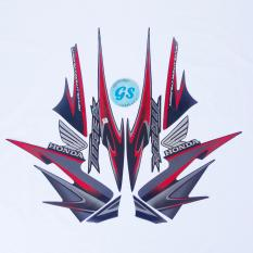 Harga Stiker Motor Tiger Revo 2013 Hitam Merah New