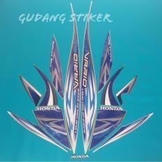 Harga Stiker Motor Vario Cw 110 2013 Putih Biru Multi Terbaik