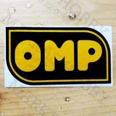 STIKER OMP 2 (HITAM KUNING)