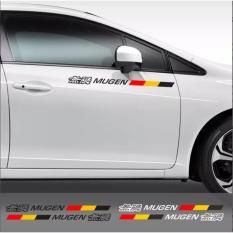 Stiker Pintu Mobil Mugen Power Honda Panjang Cutting Sticker - (dua buah kanan kiri)