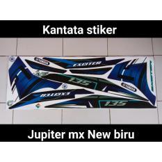 Jual Striping Jupiter Mx New Exeiter Biru Kantata Stiker Grosir