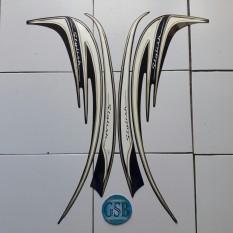 Stiker Striping Motor honda Scoopy stylish 2015 dark-blue