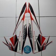 Stiker Striping Motor honda vario 110 esp 2017 merah