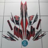 Review Toko Stiker Striping Motor Suzuki Smash Titan Sr 2012 Hitam Merah