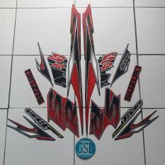 Daftar Harga Stiker Striping Motor Suzuki Smash Titan Sr 2012 Hitam Merah Multi