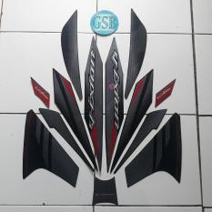 Stiker Striping Motor yamaha vixion 2014 hitam