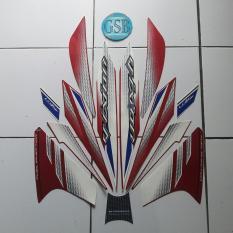 Stiker Striping Motor yamaha vixion 2014 merah