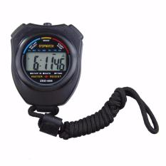 Jual Stopwatch Digital Lcd Chronograph Timer With Strap Murah