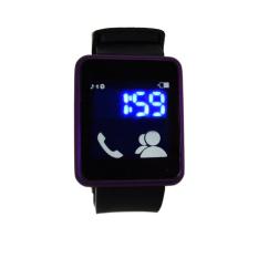 Beli Str Jam Tangan Wanita Caller Tools Touch Watch Ungu Murah