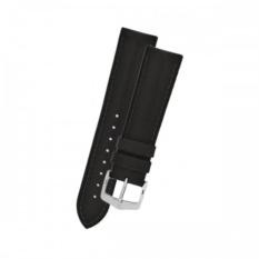 Strap Jam Tangan Pria dan Wanita - High Quality - Bahan Kulit - Size 20mm - Silver