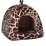 Jual Strawberry Tempat Tidur Kucing Anjing Peliharaan Rumah Kandang Anjing Puppy Basket Pad Leopard Xs Intl Tiongkok Murah