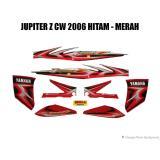 Striping Jupiter Z Cw 2006 Hitam Merah Idola Striping Diskon