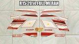 Beli Striping R15 2014 Full Merah Baru