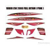 Harga Striping Vario Cw 2008 Full Hitam Pink Branded