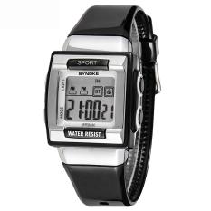 Jual Student Watches Waterproof Digital Wrist Watch For Boys And Girls 66188 Black Murah Tiongkok