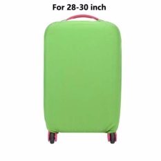 Jual Suitcase Covers Luggage Solid Dust Cover Travel Accessories Luggage Packing Organizer Protective Covers With Polyester Elastic Faric For 28 30 Inch L Green Intl Tiongkok