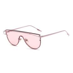 Beli Musim Panas Kopel Lensa Retro Sunglasses Pria Dan Women Sunglasses Pink Bingkai Transparan Lensa Pink Intl Baru