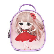 Harga Summer Travel Hadiah Casing Gadis Anak Anak Putri Satchel Casing Bahu Ransel Ungu Lovely Termurah