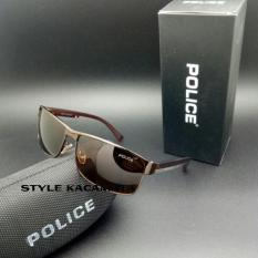 Sunglasses Kacamata Pria Kaca Mata Fashion Sunglass Police Polarized Police Diskon 40