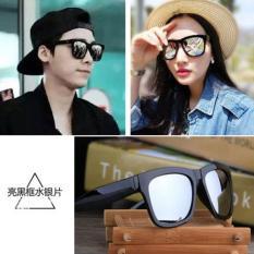 Harga Hemat Sunglasses Pria Dan Wanita Reflektif Sunglasses 2016 Star Model Hipster Toad Mirror Retro Frame Kacamata Intl