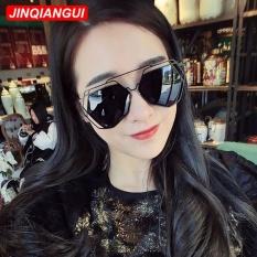 Harga Hemat Sunglasses Pria Tidak Beraturan Sun Glasses Gray Warna Desain Merek