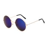 Beli Kacamata Hitam Pria Bulat Retro Biru Polaroid Bingkai Kacamata Lensa Buatan Pengemudi Pria Oculos Kotak Asli Desain Merek Murah Hong Kong Sar Tiongkok