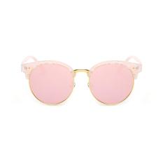 Sunglasses Polarized Pria Cermin Mata Matahari Kacamata Pink Warna Desain Merek (Intl)