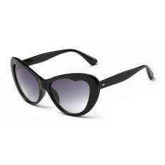 Jual Kacamata Hitam Wanita Mata Kucing Kacamata Matahari Warna Abu Abu Merek Desain Intl Ori