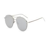 Toko Sunglasses Women Irregular Silver Color Polaroid Lens Titanium Frame Driver Sunglasses Brand Design Original Box Women Oculos Terlengkap