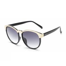 Harga Kacamata Hitam Wanita Oval Berjemur Kacamata Warna Hitam Merek Desain Intl Yang Bagus