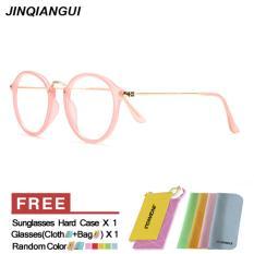 Beli Barang Kacamata Hitam Wanita Polarized Oval Sun Glasses Pink Warna Desain Merek Ekspor Online