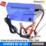Dimana Beli Sunpro Charger Aki Portable 3A 12V Mobil Dan Motor Sunpro