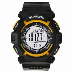 Jual Sunroad Fr820A 3Atm Waterproof Altimeter Compass Stopwatch Fishing Barometer Pedometer Outdoor Sports Watch Multifunction Intl Di Bawah Harga