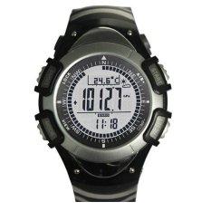 Jual Sunroad Jam Olahraga Fr8204A Alat Pengukur Tinggi Barometer Termometer El Lampu Latar Hitam Murah Tiongkok